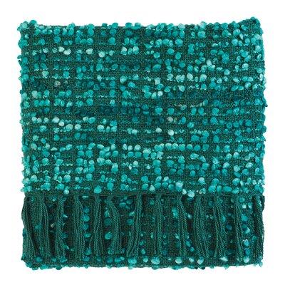Park Yarn Throw Color: Teal