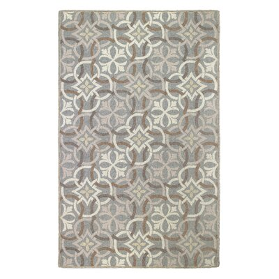 Sandstone Pewter Area Rug Rug Size: Rectangle 5 x 8