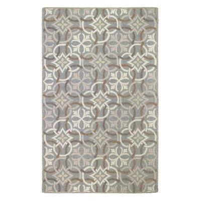 Sandstone Pewter Area Rug Rug Size: 5 x 8