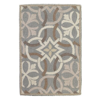 Sandstone Pewter Area Rug Rug Size: Rectangle 2 x 3