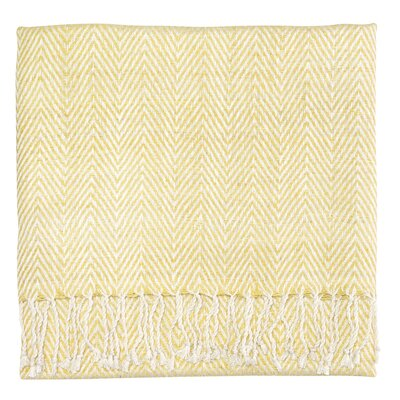Staccato Silk Throw Color: Sun