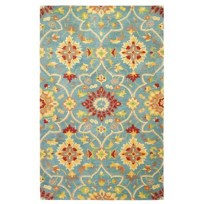 Peyton Teal Area Rug Rug Size: Rectangle 5 x 8