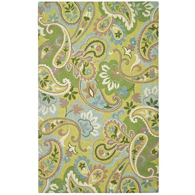 Green with Envy Willow Area Rug Rug Size: 5 x 8