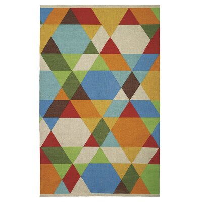 Make a Point Indoor/Outdoor Area Rug Rug Size: 5 x 8