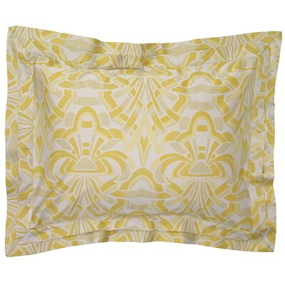 Axelle Sham Color: Gold, Size: Standard