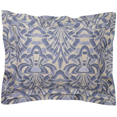 Axelle Sham Size: King, Color: Slate Blue