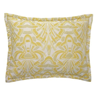 Axelle Sham Size: King, Color: Gold