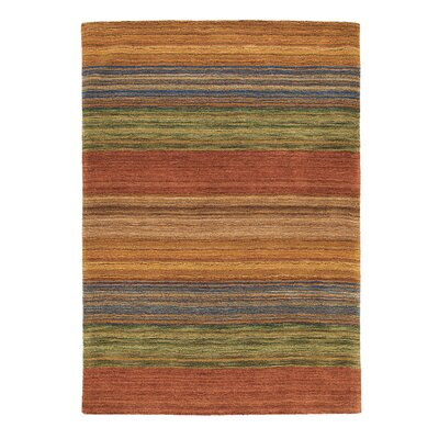 Brushstroke Area Rug Rug Size: Rectangle 4 x 6