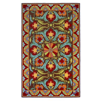 Porcelain Area Rug Rug Size: Rectangle 8 x 10