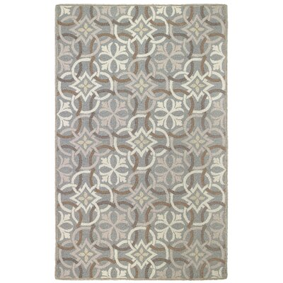 Sandstone Pewter Area Rug Rug Size: Rectangle 4 x 6