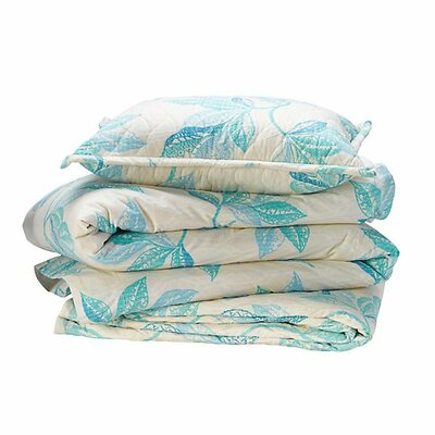 Shaye Lake Quilted Sham Size: King