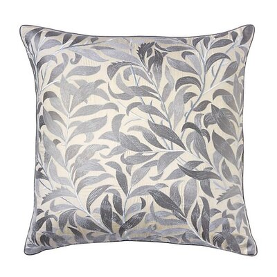 Arden Cotton Throw Pillow Color: Pewter