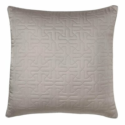 Legato Throw Pillow Color: Pewter