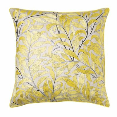 Arden Cotton Throw Pillow Color: Sun
