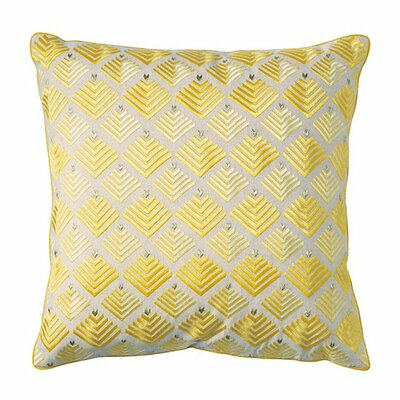 Prism Throw Pillow Color: Sun