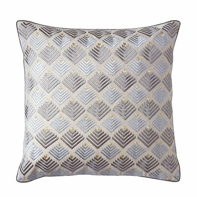 Prism Throw Pillow Color: Pewter