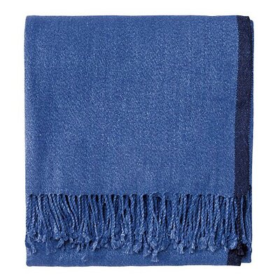 Ridgely Throw Color: Ultramarine