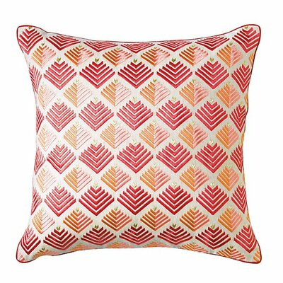 Prism Throw Pillow Color: Newport Red