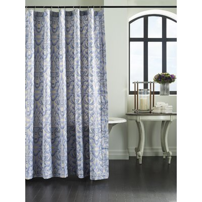 Axelle Sateen Shower Curtain Color: Blue