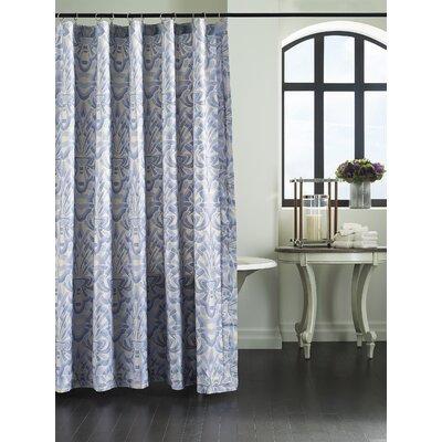 Axelle Sateen Shower Curtain Color: Blue