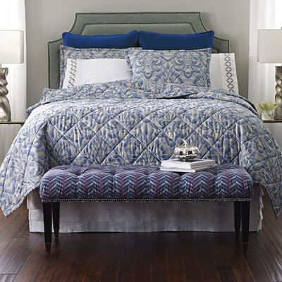 Axelle Quilt Size: Full/Queen, Color: Blue
