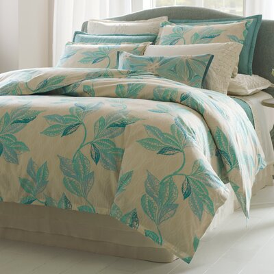 Shaye Duvet Cover Size: King, Color: Lake