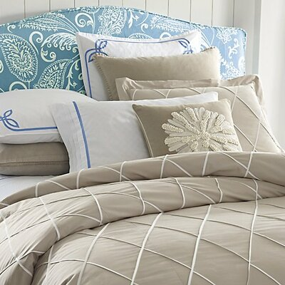 Calypso Duvet Cover Color: Driftwood, Size: Twin