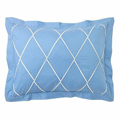 Calypso Sham Size: Standard, Color: Capri Blue