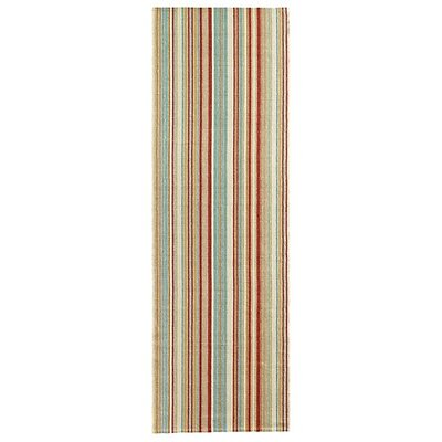 Just Beachy Multicolor Area Rug Rug Size: Runner 26 x 8
