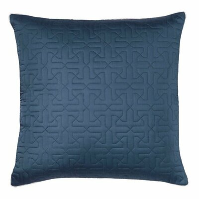 Legato Throw Pillow Color: Mineral Blue