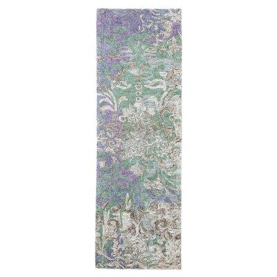 Marquesa Hand-Tufted Blue Indoor Area Rug Rug Size: Runner 26 x 8