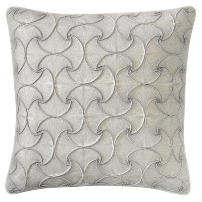 Deja Vu Throw Pillow Color: Platinum