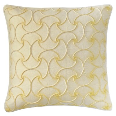 Deja Vu Throw Pillow Color: Sun