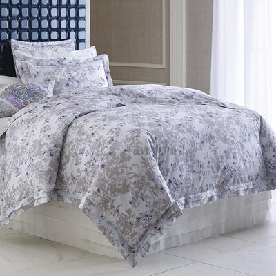 Aria Spa Blue Duvet Cover Size: Twin