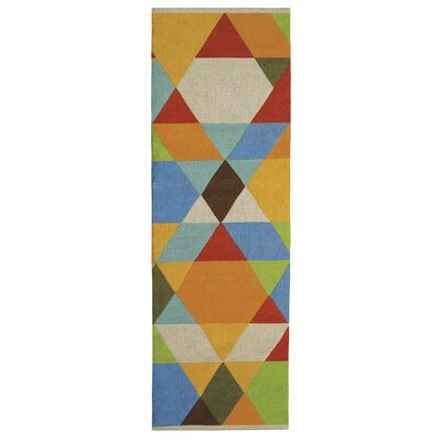 Make a Point Indoor/Outdoor Area Rug Rug Size: Runner 26 x 8
