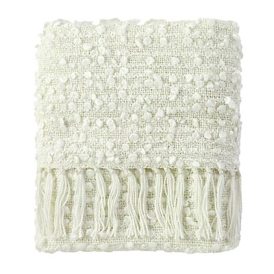 Park Throw Blanket Color: White