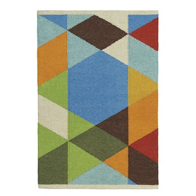 Make a Point Indoor/Outdoor Area Rug Rug Size: 2 x 3