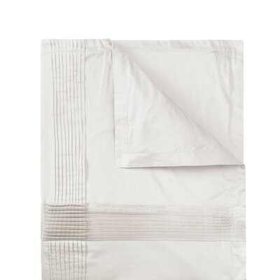 Fountain Driftwood Sham Color: Ivory, Size: Standard