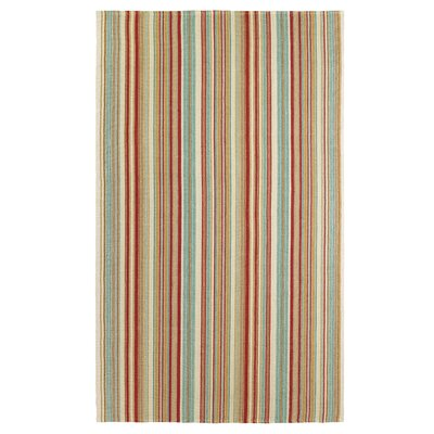 Just Beachy Multicolor Area Rug Rug Size: 5 x 8