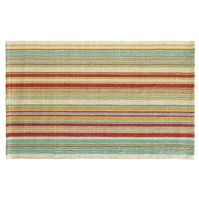 Just Beachy Multicolor Area Rug Rug Size: 2 x 3