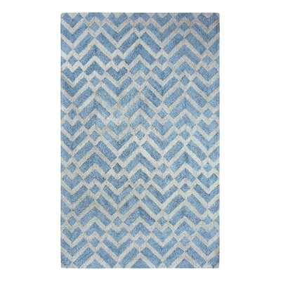 Prism Ice Blue Area Rug Rug Size: Rectangle 4 x 6