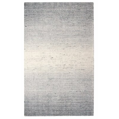 Sari Stripe Black Area Rug Rug Size: Rectangle 8 x 10