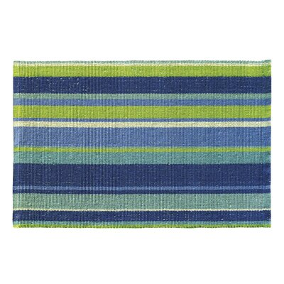 Blue My Mind Blue Indoor/Outdoor Area Rug Rug Size: Rectangle 3' x 5'