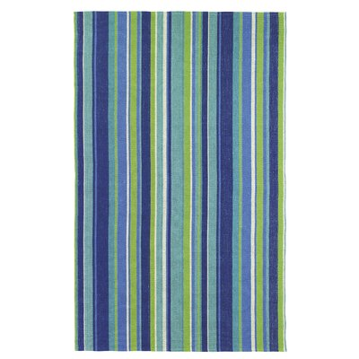 Blue My Mind Blue Indoor/Outdoor Area Rug Rug Size: Rectangle 8 x 10