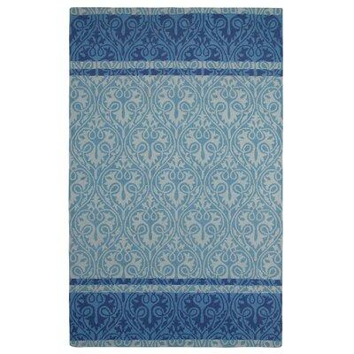 Sheridan Blue Area Rug Rug Size: 9 x 13