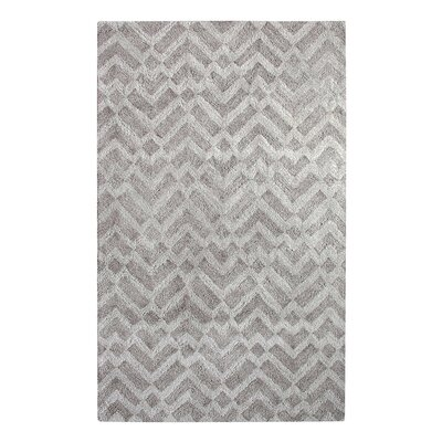 Prism Pewter Area Rug Rug Size: Rectangle 9 x 13