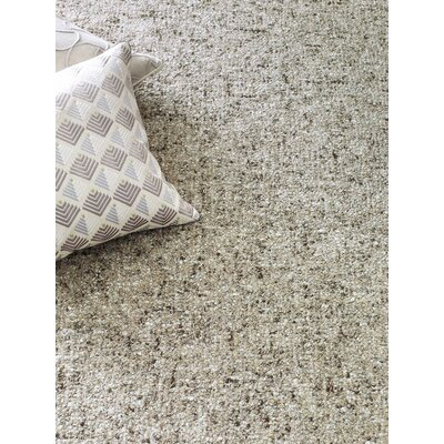 Granite Hand-Tufted Gray Area Rug Rug Size: 5 x 8