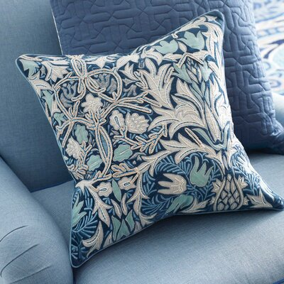 Eden Velvet Throw Pillow