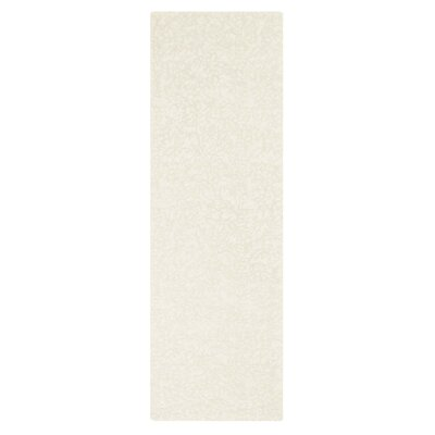 Crackle Hand-Tufted Oyster Area Rug Rug Size: 5 x 8