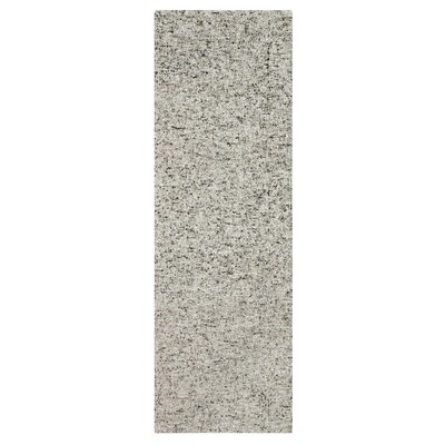 Granite Hand-Tufted Gray Area Rug Rug Size: Runner 26 x 8